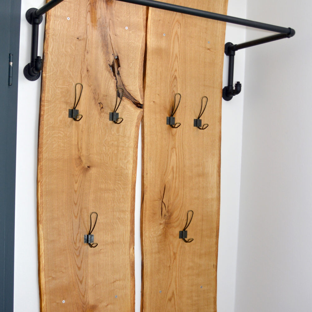 Garderobe im Industrial Style